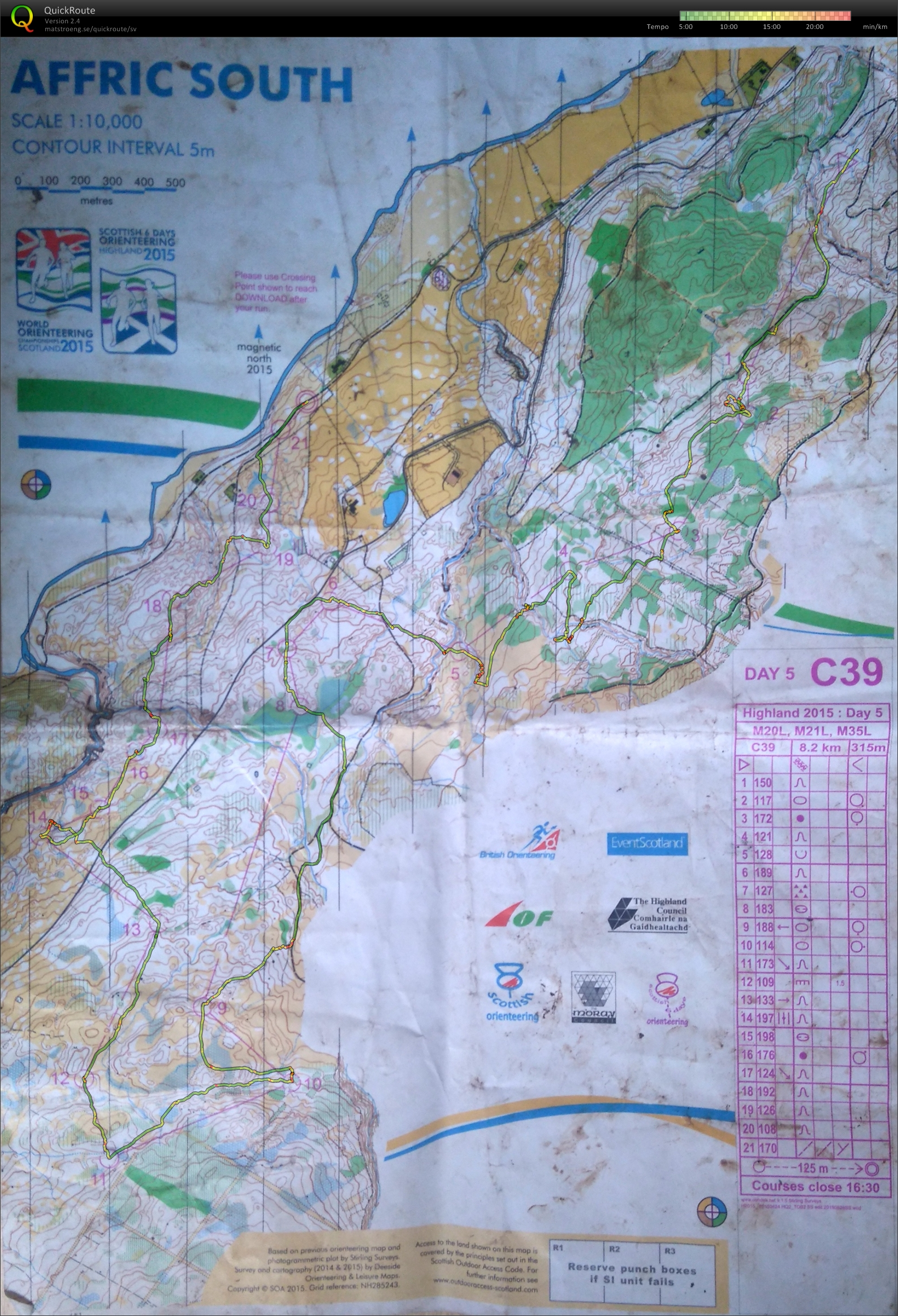 Scottish 6-Days 2015 E5 (M21L) (2015-08-07)